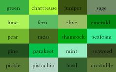A 'Color Thesaurus' Documents The Many Different Names Of Similar Hues - DesignTAXI.com