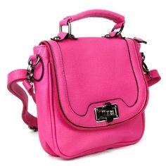 http://www.handbagsblingmore.com/Pink-Twist-Flap-Messenger-Purse/dp/B00EUGFFFK?field_availability=-2