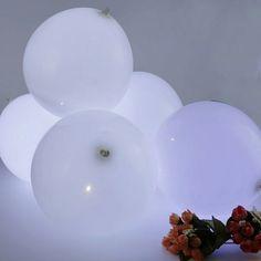 40 ballon led Décoration Mariage,Anniversaire,Fêtes,Noël blanc