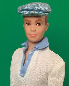 """Ken's buddy Allan is a cutie patootie. Here he models the hard to find """"Holiday"""" outfit from 1965."""