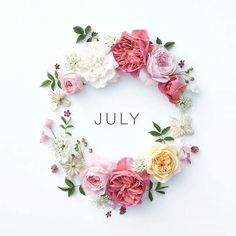 Hello July! It is a new month, and we are halfway into 2016! There are lots of great things in store for this month (and to top it off, my birthday is July 8th! ) and I'm excited to start this next season in my life. Are you setting your goals and plans for this month? Share them below!