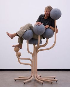 Peter Opsvik; 'Garden Chair' for Rybo, 2012.