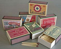 Vintage Match Boxes