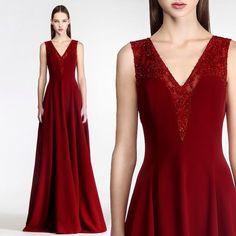 Scarlet Fever. #ghbygeorgeshobeika Ready-to-Wear FW 15-16. #parisfashionweek #readytowear #fw1516 #GEORGESHOBEIKA