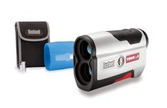 Bushnell Tour V3 Standard Edition Golf Laser Rangefinder, White Patriot Pack