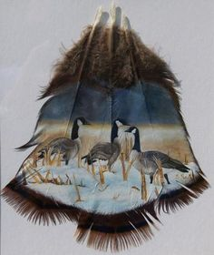 Hand Painted Turkey Feathers                                                                                                                                                      More