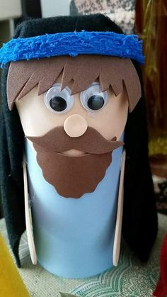 Diy And Crafts, Crafts For Kids, Arts And Crafts, Cardboard Tube Crafts, Church Crafts, Sunday School Crafts, Bible Crafts, Bible Lessons, Felt Ornaments