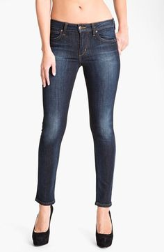 Free shipping and returns on Joe's Skinny Stretch Ankle Jeans (Bridget) at Nordstrom.com. A signature leather logo patch brands one of the back pockets of lightly faded, dark-rinse stretch jeans with a fitted silhouette and ankle-length inseam.