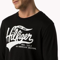 Tommy Hilfiger Organic Cotton T-shirt - black - Tommy Hilfiger T-Shirts - detail image 2