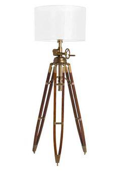 Royal Marine Tripod Floor Lamp   Home   Pinterest   Libraries ...:Royal Marine Floor Lamp by Eichholtz on ECC,Lighting
