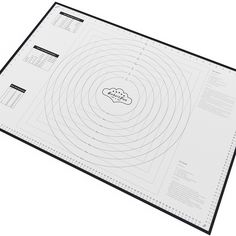 BakeitFun XX-Large Silicone Pastry Mat With Measurements, 33.5 x 22.5, Full Sticks To Countertop For Rolling Dough, Conversion Information Included, Perfect Fondant Surface, Professional Size, Black ^^ Additional details at the pin image, click it : Baking Accessories