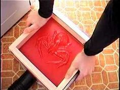 DIY VACUUM FORMING- could be an excellent idea for adding surface decoration. I want to make one using a toy gun and rub it into leather to make something like this! http://cdn.necolebitchie.com/wp-content/uploads/2012/06/Gun-clutch-bag-v-v.jpg