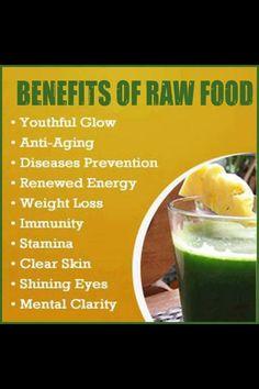 Benefits of Raw foods