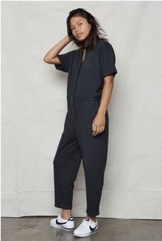 553cc2d7f21f Back Beat Rags Hemp Boiler Suit - Vintage Black on