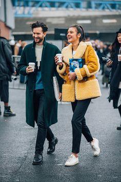 Fashion Week homme Street looks Paris automne hiver 2016 2017 109