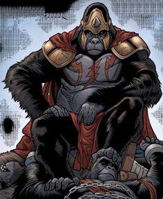 O Gorilla Grodd.