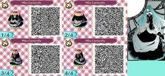 Animal Crossing QR Code - Hatsune Miku Cantarella by UkPotatoOcean.deviantart.com on @DeviantArt