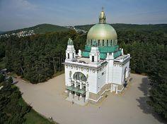 VAGNER. Церковь Святого Леопольда. Вена, Авсрия.