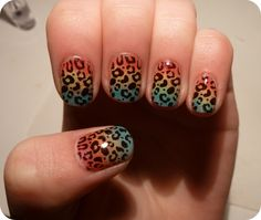 How to do leopard nails