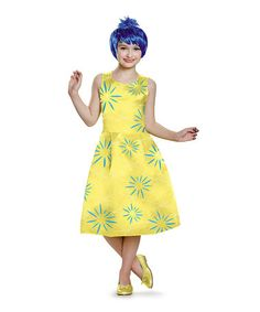 Look what I found on #zulily! Inside Out Joy Deluxe Dress-Up Set - Kids #zulilyfinds