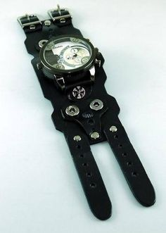 Watch Band Leather Watch Strap Leather Watchband Steampunk