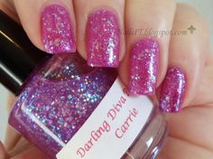 NailsIT: Darling Diva Polish Carrie