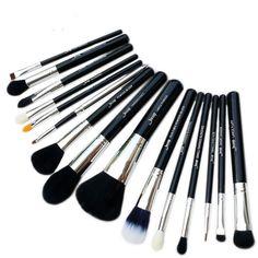15pcs Makeup Brushes Set