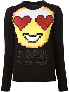 PHILIPP PLEIN 'Cannot' Sweater. #philippplein #cloth #sweater