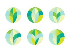 Sustainability Logo/Icon Concepts by Christopher Allen Thomas
