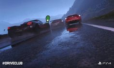 Driveclub Japan Track DLC Gameplay video