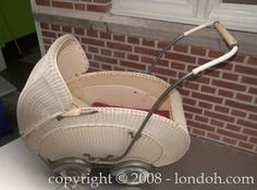 Kinderwagen, I have a picture of myself sitting in one of those.........Me too