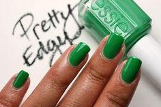 Essie's fun Kelly Green shade 'Pretty Edgy'