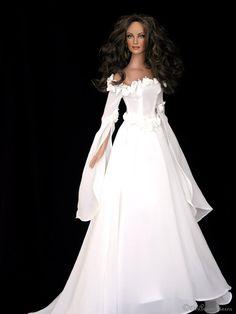 Old times bride!!! Tonner OOAK doll »✿❤Barbie❤✿«◉◡◉