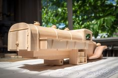 Gas & Oil Truck | Made from Toys and Joys plan. | 45South | Flickr Awesome Woodworking Ideas, Woodworking Videos, Custom Woodworking, Woodworking Plans, Woodworking Projects, Wooden Toy Cars, Wooden Truck, Wood Toys Plans, Diy Toys
