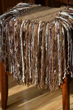 Fringed photo prop blanket....the first one I made
