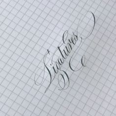 """I'm continually tweaking, adding, revising my online course, but one segment I WILL be including in this course is ligatures! How to connect 2 letters together with a hairline stroke 👍🏼 Based on some of your feedback, seems like """"o-s"""" , """"o-x"""" , double letters are tough...are there any others?? Lmk below! 👇🏼 This course is designed with YOU in mind and I'm filming next Tuesday, so I'd love to hear from you! ❤️  ---  ✨✨✨Ps. Waitlist is now OPEN for my online course! Click link in profile…"""
