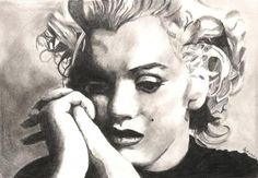 Marilyn+Monroe+by+patrick