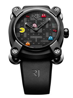 Pac-Man Watch by Romain Jerome