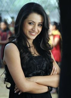 Cute #Trisha Smiley #Pics