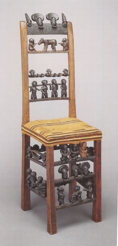 African Crafts, African Art, African Furniture, Stool Chair, Fantasy Inspiration, African Design, Take A Seat, Global Art, Afrikaans