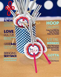 independence day party planner - June 6, 2013 Grab Bags, Magazine Covers, Fourth Of July, Independence Day, Holiday Parties, The Help, June, Holidays, Party