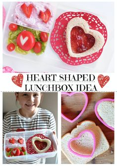 Making Mealtime Memorable - Heart Shaped Lunchbox Idea - Our Ordinary Life