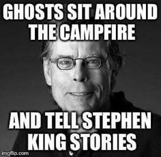 So this is how he writes such awesome books! No wonder Stephen King Quotes, Stephen King Movies, Writing Humor, Writing Quotes, Writing Tips, Steven King, Scary Movies, Horror Movies, Funny Horror