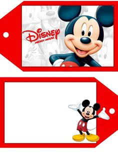Mickey photo by Mickey Y Minnie, Mickey Mouse And Friends, Mickey Mouse Birthday, Disney Mickey Mouse, Bambi Disney, Disney Diy, Disney Luggage Tags, Disney Names, Autograph Book Disney