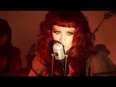 Karen Elson The ghost who walks around video. The album is a bit dark but I love it.