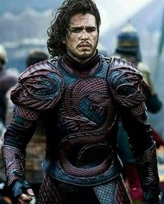 His story is the Song of Ice and Fire. He is the Prince that was Promised, Jon Targaryen-Stark>>> he knows nothing!!!
