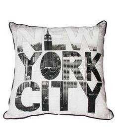 Graham and Brown New York Cushion.