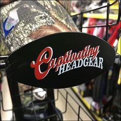 Captivating Headgear Tray Branding – Fixtures Close Up Headgear, Logo Branding, Hooks, Tray, Retail, Trays, Wall Hooks, Sleeve, Crocheting