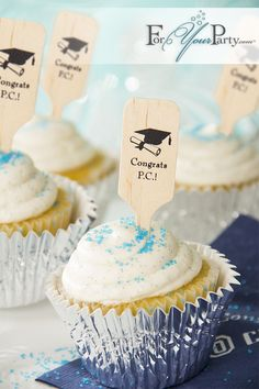 Are you planning a graduation party? Make it extra special and rewarding with these personalized stir sticks from ForYourParty.com