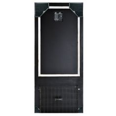 "Distressed Wood Framed Chalkboard with Metal Basket 18"" x 40"" (Black) Home Office Collection http://www.amazon.com/dp/B00JIW9AQ6/ref=cm_sw_r_pi_dp_gEcavb1PEWF6J"